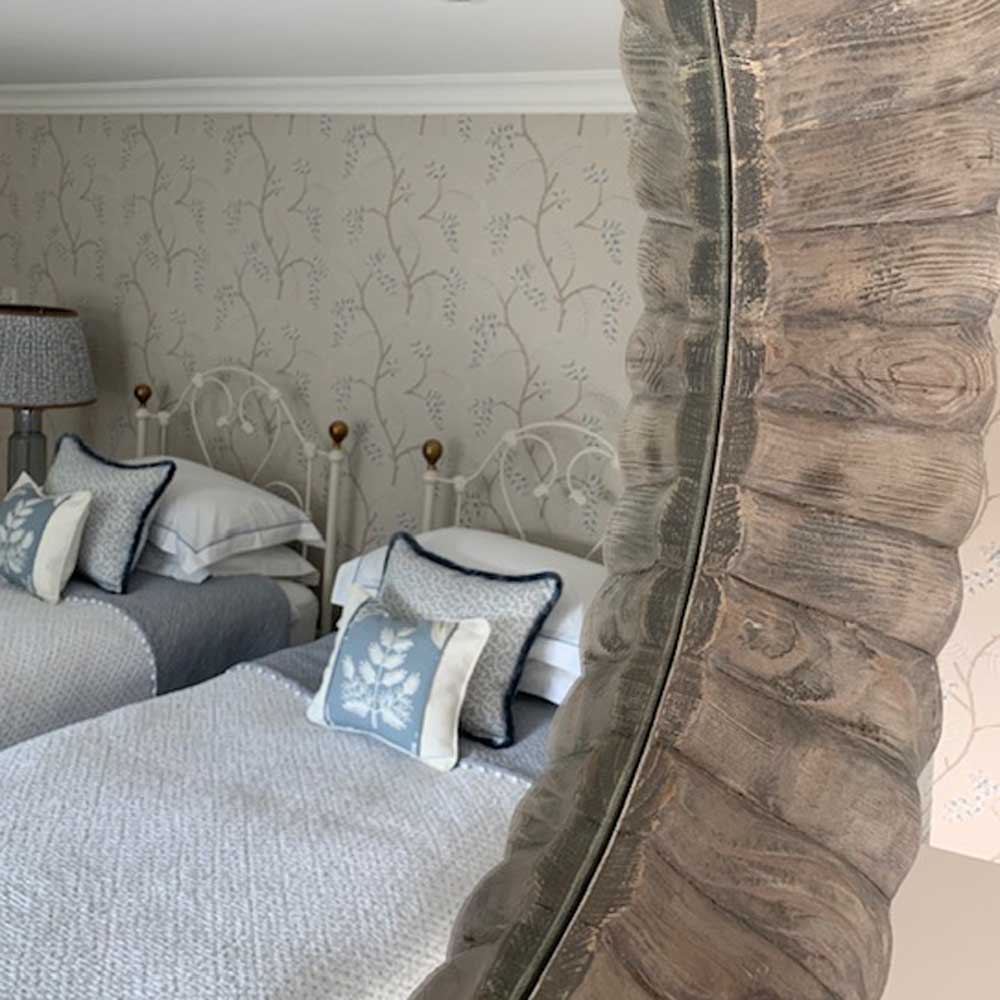 Living space designed by Ella Melrose Interiors, Staffordshire